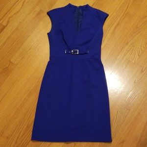 Trina Turk Electric Blue Sleeveless Dress